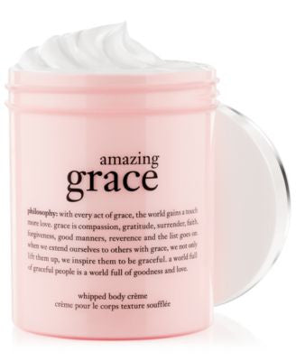 philosophy amazing grace whipped body crème, 8 oz