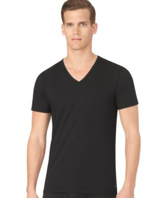 Calvin Klein Men's Slim-Fit V-Neck T-Shirt 3-Pack