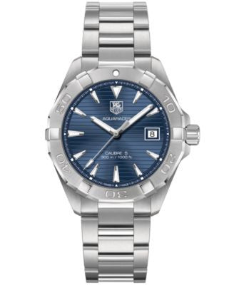 TAG Heuer Men's Swiss Automatic Aquaracer Stainless Steel Bracelet Watch 41mm WAY2112.BA0910
