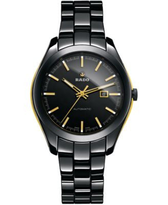 Rado Unisex Swiss HyperChrome Black High-Tech Ceramic Bracelet 36mm R32287152