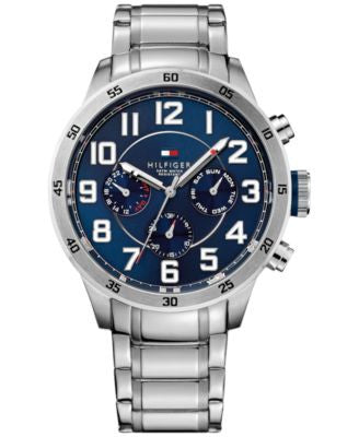 Tommy Hilfiger Men's Stainless Steel Bracelet Watch 46mm 1791053