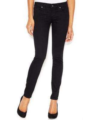 GUESS Power Low-Rise Silicone Wash Skinny Jeans
