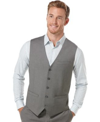 Perry Ellis Button Front Vest
