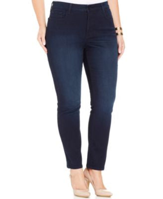 NYDJ Plus Size Jade Jeggings, Norwell Wash