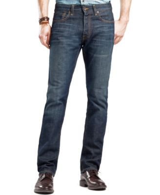 Lucky Brand Men's 121 Heritage Slim Straight Fit Ol Occidental Jeans