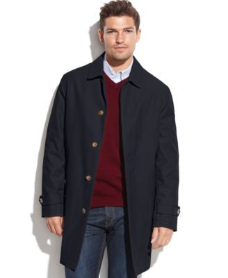 Tommy Hilfiger Single-Breasted Leone Rain Coat