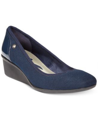 Anne Klein Wisher Sport Wedge Pumps