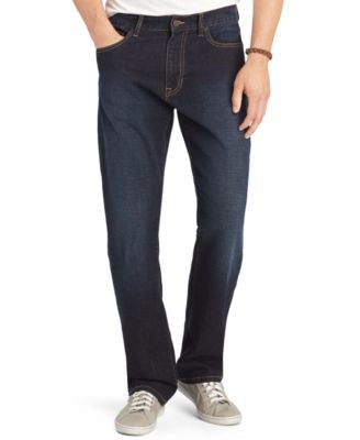 IZOD Comfort Relaxed-Fit Five-Pocket Jeans