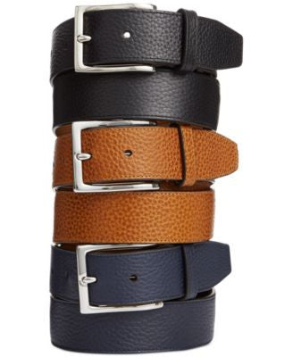 Cole Haan Pebbled Leather Belt