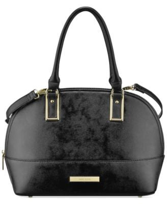 Anne Klein Shimmer Down Large Dome Satchel