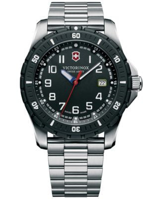 Victorinox Swiss Army Men's Maverick Sport Stainless Steel Bracelet Watch 43mm 241675