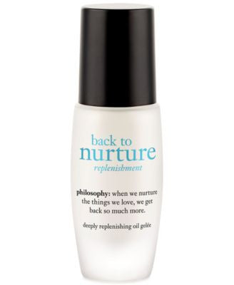 philosophy back to nurture deeply replenishing oil gelee, 1 oz