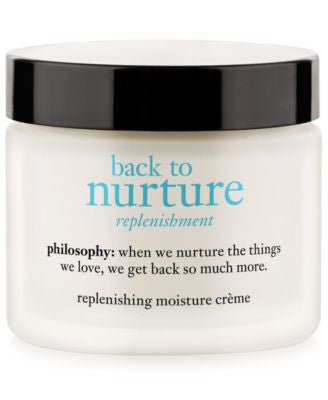 philosophy back to nurture replenishing moisture crème, 2 oz