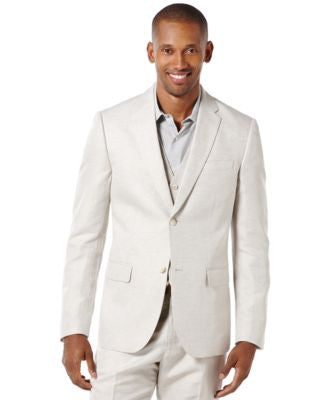 Perry Ellis Big and Tall Linen Blend Suit Jacket