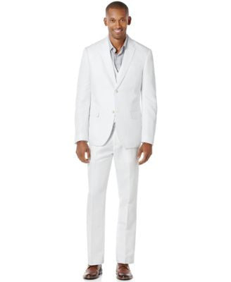 Perry Ellis Linen Suit Separates