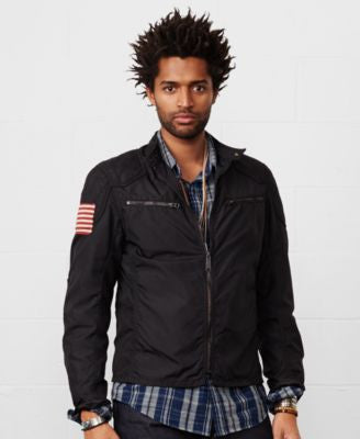 Denim & Supply Ralph Lauren Waxed Nylon Jacket