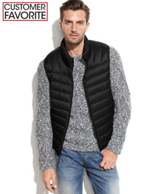Hawke & Co. Big & Tall Lightweight Packable Down Vest