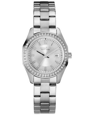 Caravelle New York by Bulova Women's Stainless Steel Bracelet Watch 28mm 43M108