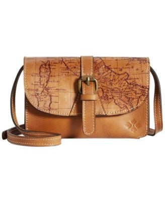 Patricia Nash Signature Map Torri Crossbody