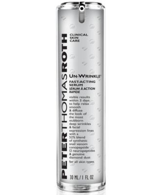 Peter Thomas Roth Un-Wrinkle Targeted Deep Wrinkle Fast-Acting Serum, 1 oz