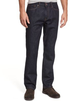 Tommy Hilfiger Men's Rinse Slim-Straight Jeans