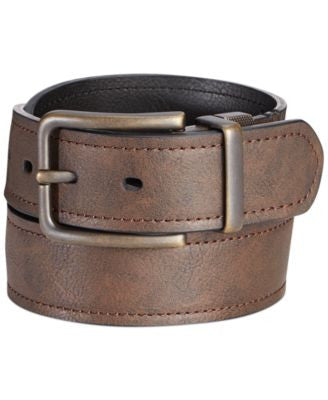 Levi's Antique Brass Buckle Reversible Casual Belt