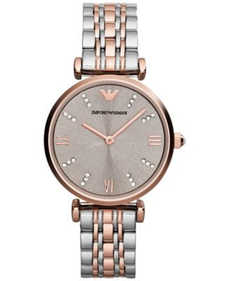Emporio Armani Women's Two-Tone Stainless Steel Bracelet Watch 31mm AR1840