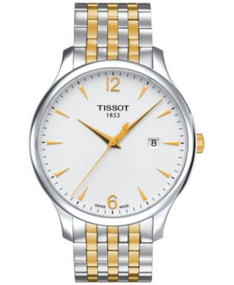 Tissot Men's Swiss Tradition Two-Tone Stainless Steel Bracelet Watch 42mm T0636102203700