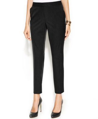 Vince Camuto Slim-Leg Ankle Trousers
