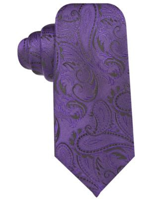 Ryan Seacrest Distinction Tonal Paisley Slim Tie