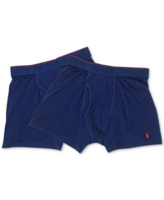 Polo Ralph Lauren Men's Supreme Comfort Boxer Briefs 2-Pack