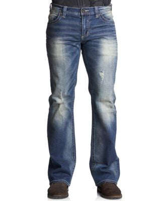 Affliction Men's Cooper Relaxed Bootcut Jeans