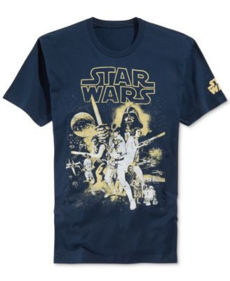 Men's Fifth Sun Star Wars Poster Reincarnate T-Shirt