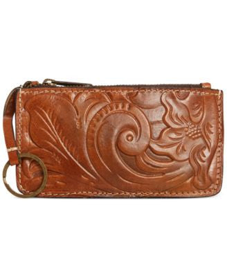 Patricia Nash Tooled Gela Card Case