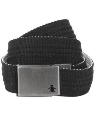 Penguin Solid Color Reversible Web Belt