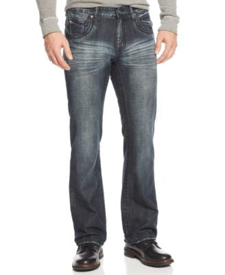 INC International Concepts Men's Gale Copenhagen Bootcut Jeans, Only at Vogily