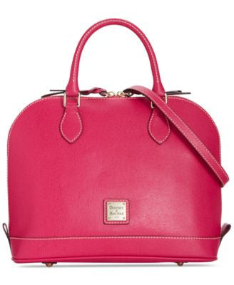 Dooney & Bourke Saffiano Zip Zip Satchel