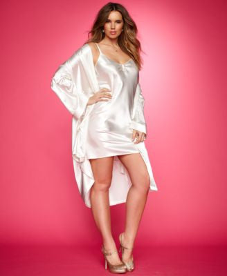 Morgan Taylor Plus Size Satin Wrap