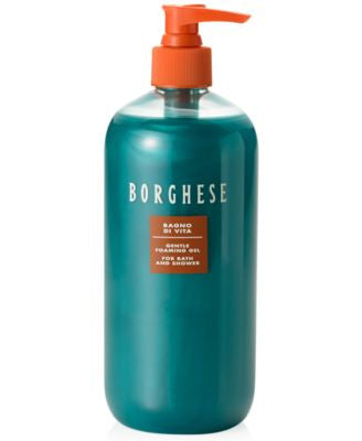 Borghese Bagno di Vita Gentle Foaming Gel for Bath and Shower, 16 oz