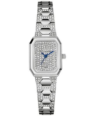 Wittnauer Women's Crystal Accent Stainless Steel Bracelet Watch 19x14mm WN4053