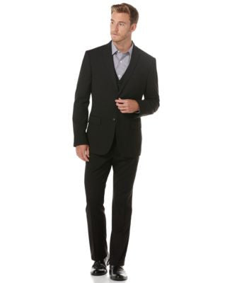 Perry Ellis Suit Separates, EDV Slim Fit Blazer Vest and Pants