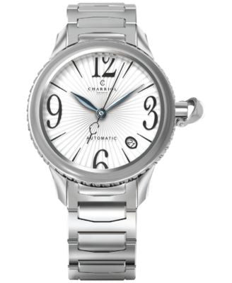 CHARRIOL Women's Swiss Automatic Colvmbvs Steel Bracelet Watch 36mm CO36AS.920.002