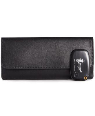 Royce Italian Saffiano Freedom Wallet with GPS Technology