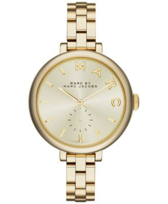 Marc by Marc Jacobs Women's Sally Gold Ion-Plated Stainless Steel Bracelet Watch 36mm MBM3363