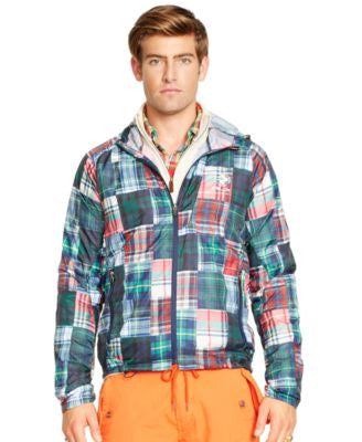 Polo Ralph Lauren RLX Packable Plaid Jacket