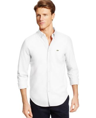 Lacoste Oxford Woven Shirt