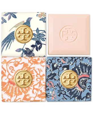 Tory Burch Bath Soap- Set of Four