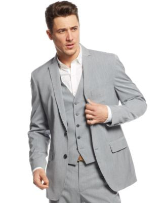 INC International Concepts Men's Marrone Blazer