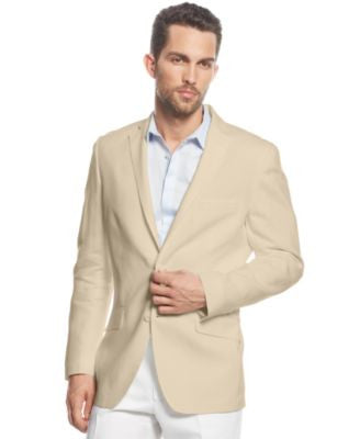 INC International Concepts Men's Smith Linen Blend Blazer