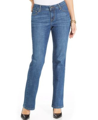 Lee Platinum Theresa Curvy-Fit Rhine Wash Bootcut Jeans